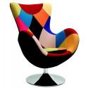 Butterfly (Patchwork) - fotel wypoczynkowy Halmar